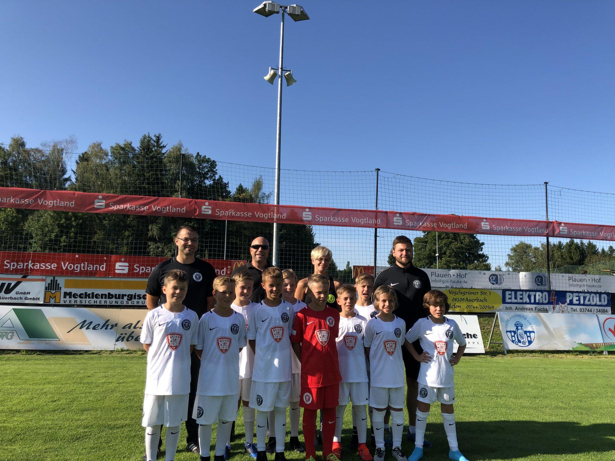 Hauptsponsor der E-Jugend des VfB Auerbach